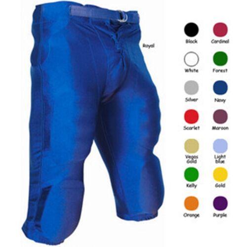W//O Pads Champro Sports Stretch Dazzle Boys Youth Football Pants w// Snaps FPY6
