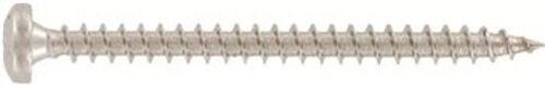 Art. 9048 Rundkopf-Holzbauschrauben PZ verstärkter Kopf Edelstahl A2 diverse