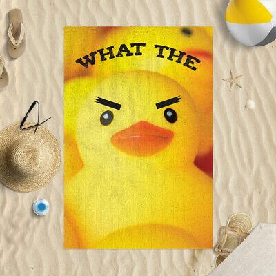 Duck Design Microfibre Beach Towel