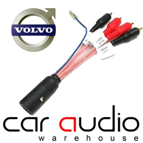 Volvo 940 1994-1997 Dolby Car Stereo Amplifier Bypass RCA Harness Lead PC9-414