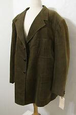 JOHN GOODMAN Worn Vintage 60/70's Green Corduroy Jacket 50XL