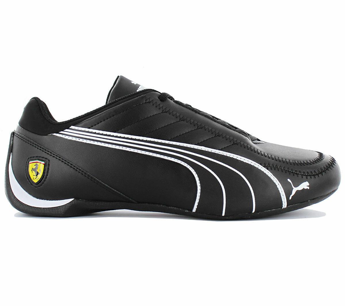New mens Puma Ferrari Future Kart cat motorsport shoes black white 306170 02 new