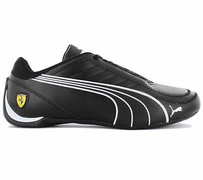New mens Puma Ferrari Future Kart cat motorsport shoes black white 306170  02 new   eBay