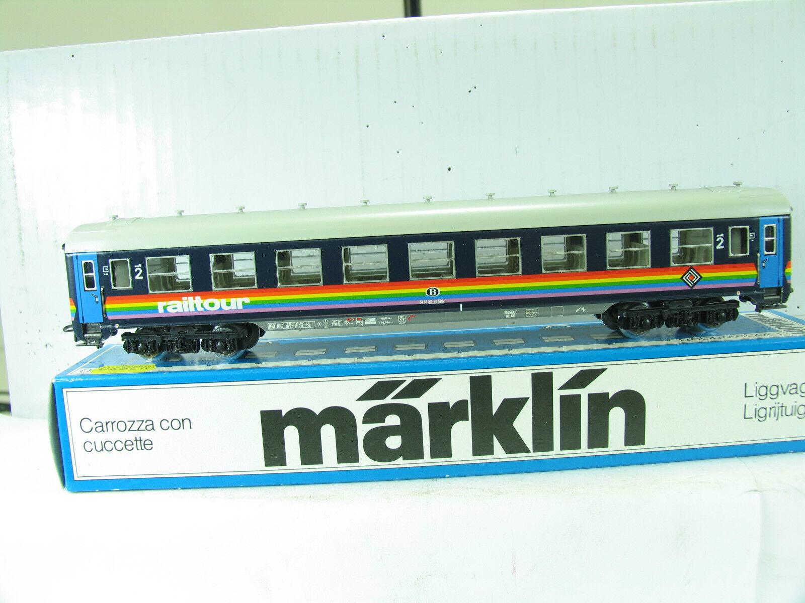 Märklin 4118 Recliner car SNCB eh99