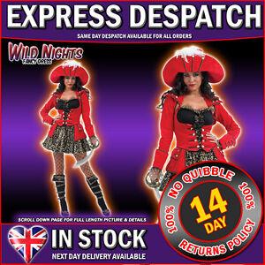 FANCY-DRESS-COSTUME-RED-LADIES-GLITZY-PIRATE