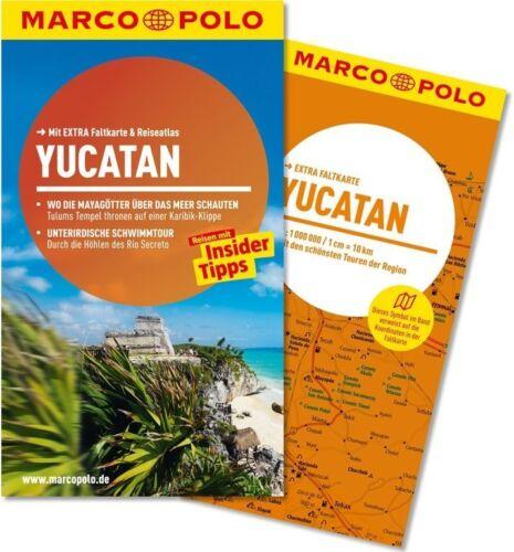 1 von 1 - !! Yucatan 2014 UNGELESEN Reiseführer + Karte Marco Polo Mexiko Cancun