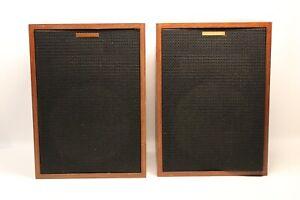 1980-Vintage-Pair-Of-Klipsch-HBR-Heresy-Speakers-Birch-Wood
