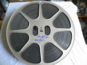 Film-16mm-CM-Western-034-Un-piege-en-or-034-de-John-English-annees-50