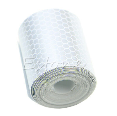 3M Colorful Silver White Reflective Safety Warning Conspicuity Tape Film Sticker