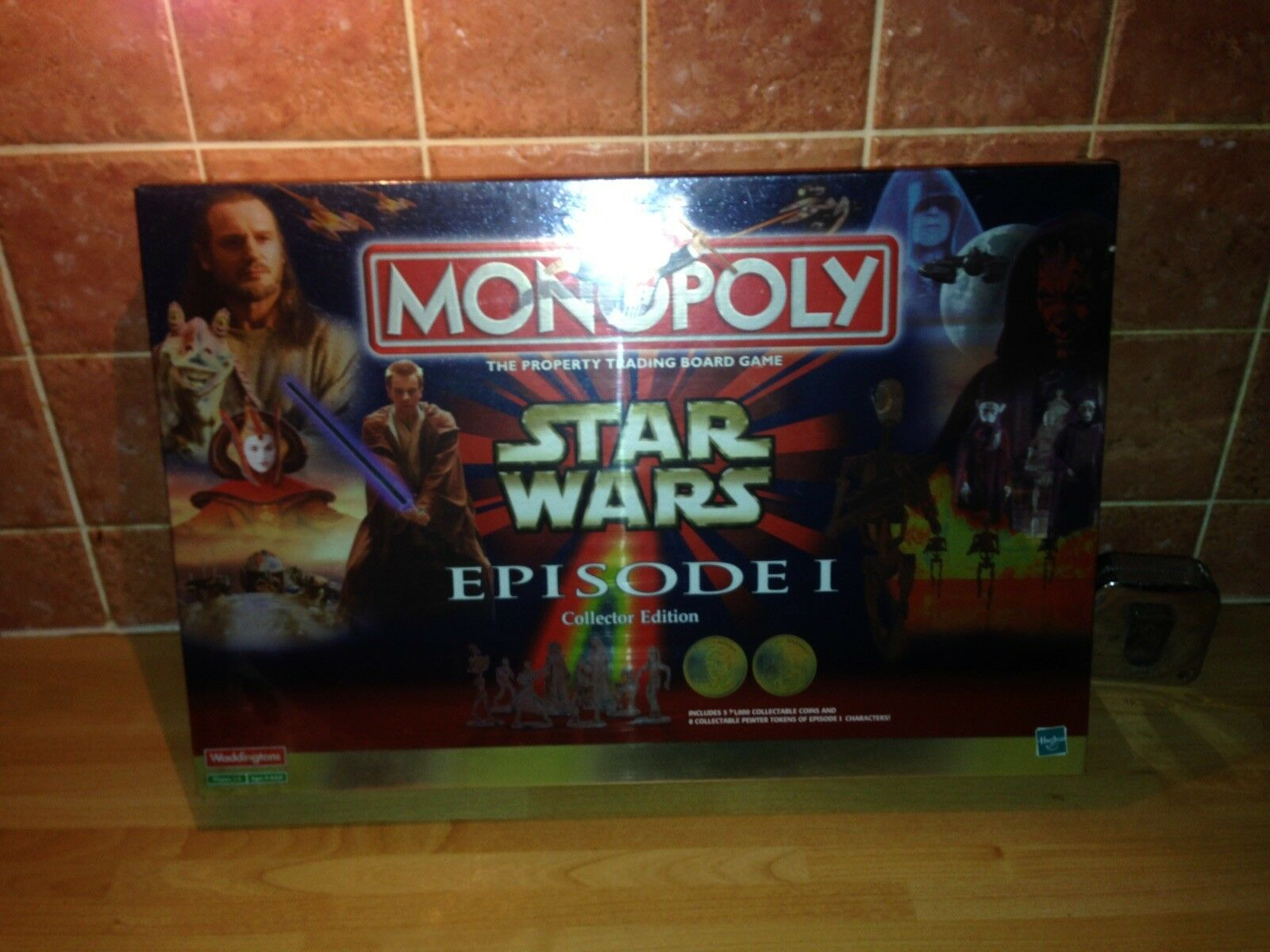 1 Episode Wars Star Monopoly Collectors Seald New Edition