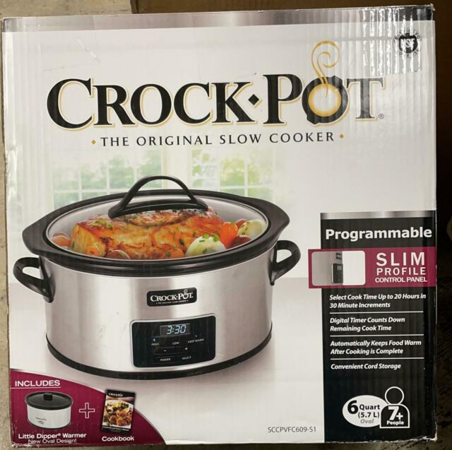 Farberware 6 Qt Slow Cooker With Mini Dipper For Sale Online Ebay