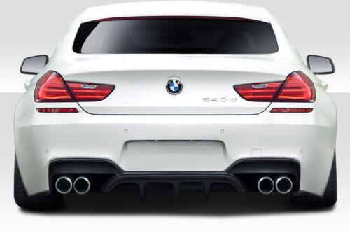 1 Piece 113483 20112018 BMW 6 Series M6 F06 F12 F13 Duraflex AMK Rear Diffuser