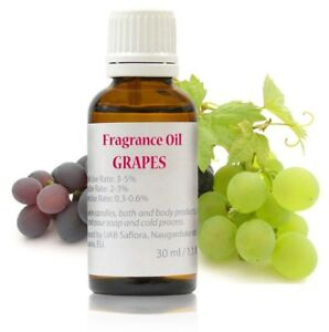 30-ml-Grape-Fragrance-Oil-for-Soap-Candle-Cosmetics-Highly-Concentrated