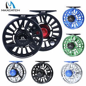 AVID-Fly-Fishing-Reel-1-2-3-4-5-6-7-8-9-10WT-CNC-Machined-Aluminum-Mid-Arbor