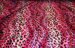 Image Is Loading Velboa Faux Fur Fuchsia Leopard Animal Print Fabric