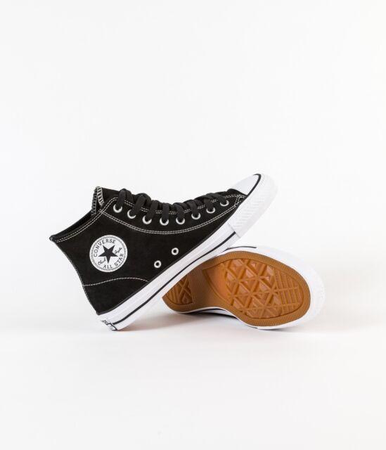 Converse Cons 144585C Suede CTAS Pro Ox Black White Shoes