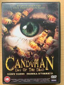 Caramelo-Man-3-Dia-Of-The-Dead-DVD-1999-Clive-Barker-Culto-Terror-Pelicula