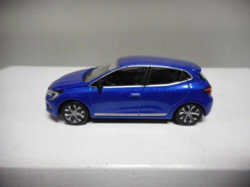 RENAULT CLIO VALENCIA ORANGE BLUE NOREV 3 INCHES
