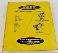 Vintage Feco Power Equipment Catalog Parts List Briggs Amp Stratton Tecumseh