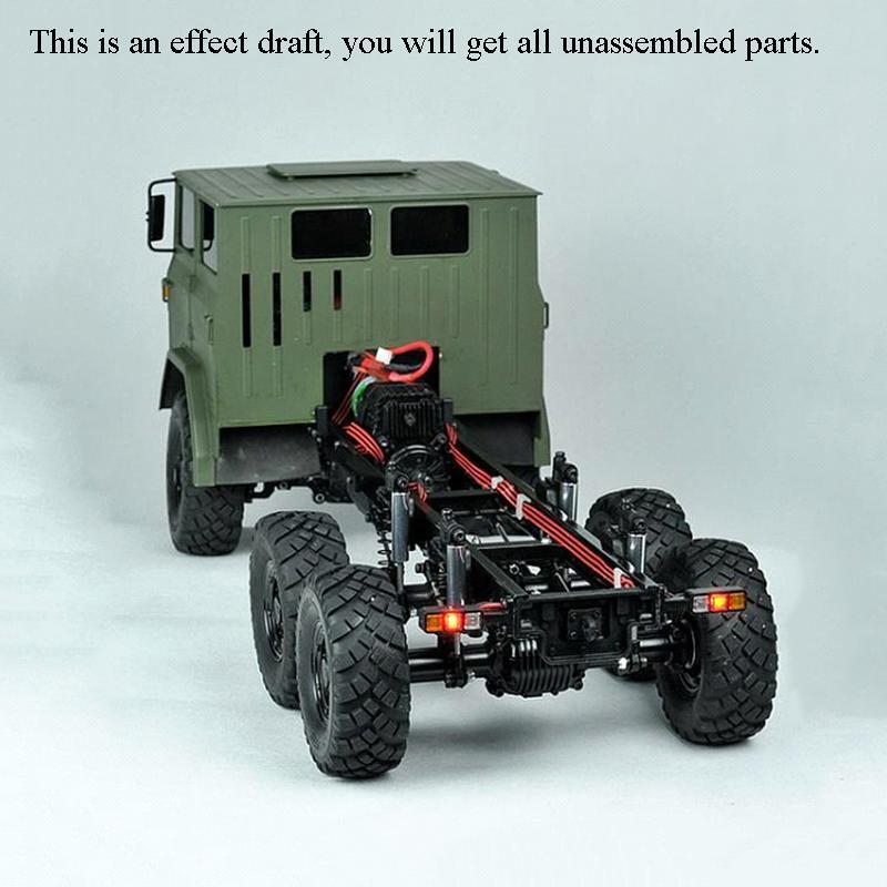 Crossrc 1 12 Modelo XC6-A off road camión militar kit de luces coche 66 vehículo de motor