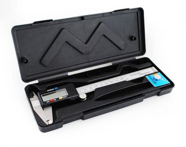 Digitaler Messschieber Digitale Schieblehre + LCD 150 mm Neu #099