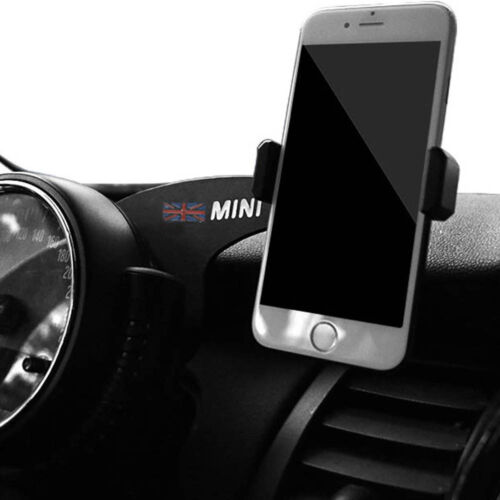 1x Red Union Jack Car Phone GPS Mount Case Holder Stand For Mini Cooper R55 R56