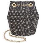 Inc International Concepts Navy Cheebee Bucket Bag Handbag 8 X 5 Inches