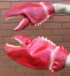 lobster claw hands gloves costume accessory halloween fancy dress