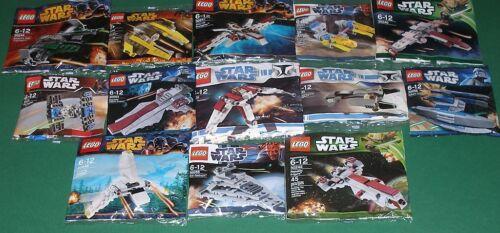 13 verschiedene Raumschiffe 13x Lego Star Wars