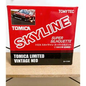 Tomica-LIMITATA-VINTAGE-NEO-1-64-Skyline-SUPER-earlysion-1983-Silhouette