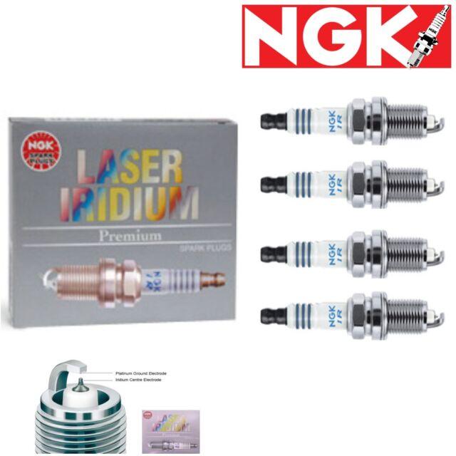 NGK SPARK PLUGS LASER IRIDIUM # 6741 IFR6E11 Spark Plug Set of 4