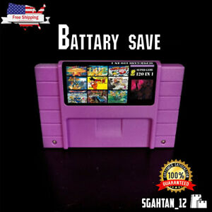 Super-120-in-1-for-Nintendo-SNES-Multi-Cart-Game-Cartridge-Battery-Save-NTSC-U-C