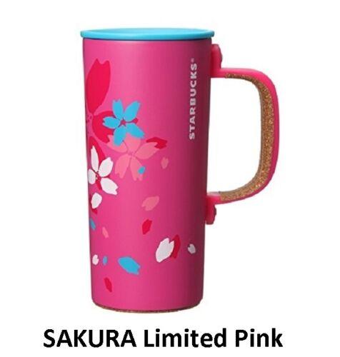 NEW Starbucks Stainless Mug Tumbler Japan Sakura 2016 350ml Limited Pink F/S