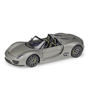 Welly-1-24-Porsche-918-Spyder-Roadster-Diecast-Model-Racing-Car-New-in-Box
