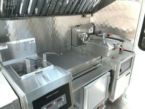 """4/"""" Quilt Food Truck /& Restaurant Wall Covering Stainless Steel 26 Ga 48 X 96"""