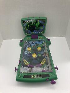 Rare Vintage The Incredible Hulk Marvel Pinball Machine Rare 2003 Tabletop Works