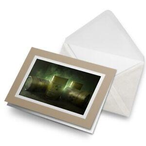 Greetings-Card-Biege-Nuclear-Waste-Barrels-Cool-2775