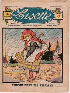 Revue-ancienne-Lisette-2e-annee-N-34-Dimanche-3-mars-1922