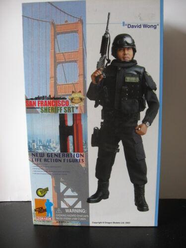 "1//6 12/"" 30cm GI JOE ACTION MAN DRAGON DAVID WONG SAN FRANCISCO SHERIFF POLICE"