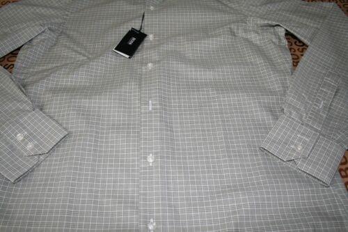 Nuevo Hugo Boss De Hombre Formal Inteligente Regular Fit Traje de verificación verde Camiseta 14.5 37 pequeñas