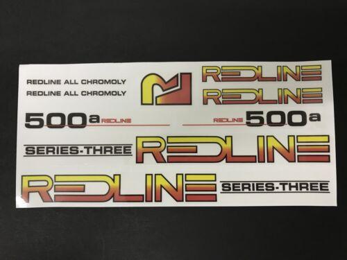 Redline 500a Repop Decal sticker set Old School BMX