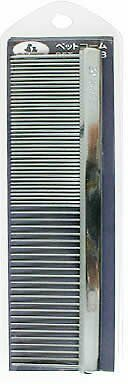 JAPAN BRAND ONS PREMIUM QUALITY DOG 2 WAY METAL COMB LARGE SIZE - MADE IN JAPAN