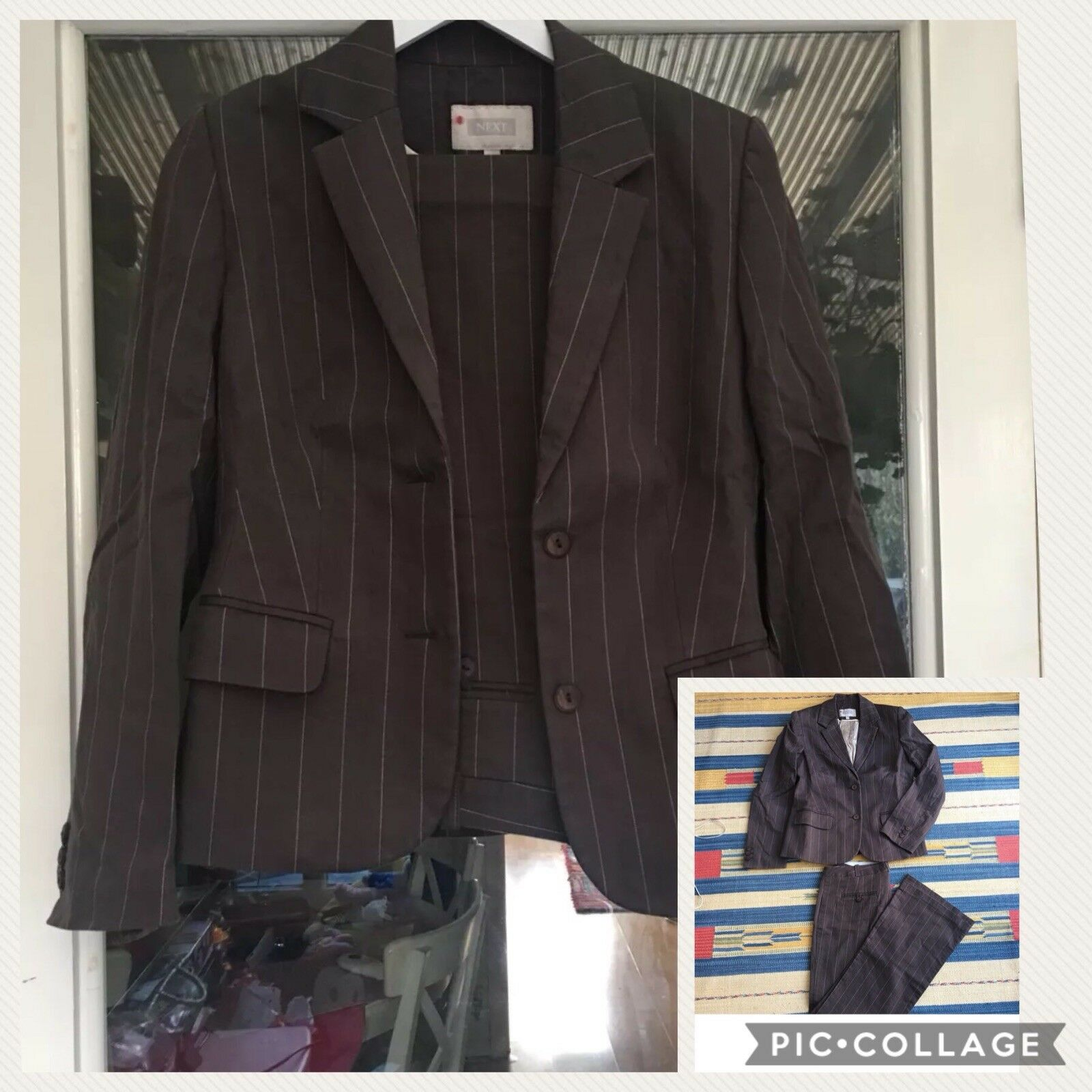 Woman Next Business Suit & Trousers Pac Of 2 Pieces Size 10 Uk