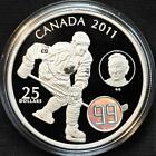 "2011 ""The Great One"" Canada $25 Silver Coin - Wayne Gretzky"