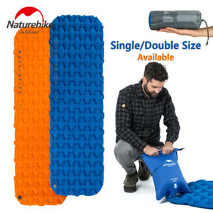 info for 0fe52 dc136 Details about Naturehike Inflatable Moisture-proof Sleeping Pad Tent Mat  Camping Mattress Gear