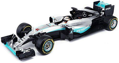 Burago 118 Scale 18-18001 - Mercedes F1 W07 Hybrid - Lewis Hamilton