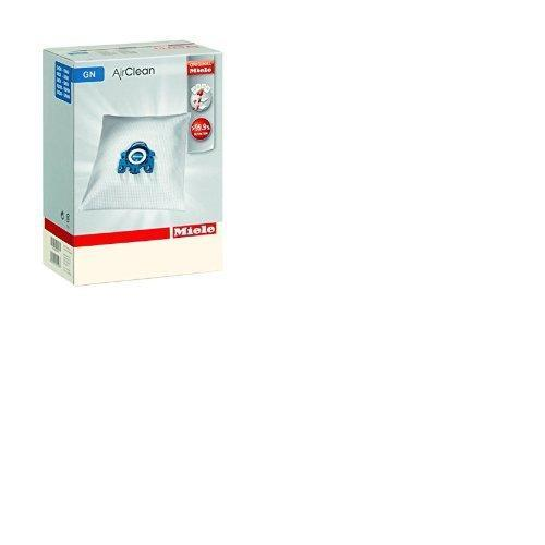 Miele GN Vacuum Cleaner Bags 4 Bags 2 Filters Blue Collar Genuine 10123210