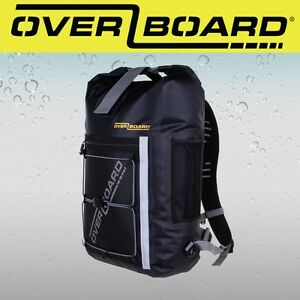 16c7d8d75b Image is loading Overboard-Pro-Light-Waterproof-Backpack-30-Litres-Black