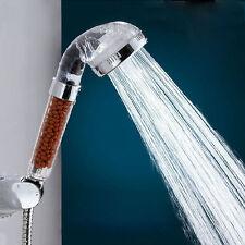 1PC  Stainless Bathroom SPA Handheld Anion Water-saving Rain Shower Head Nozzle