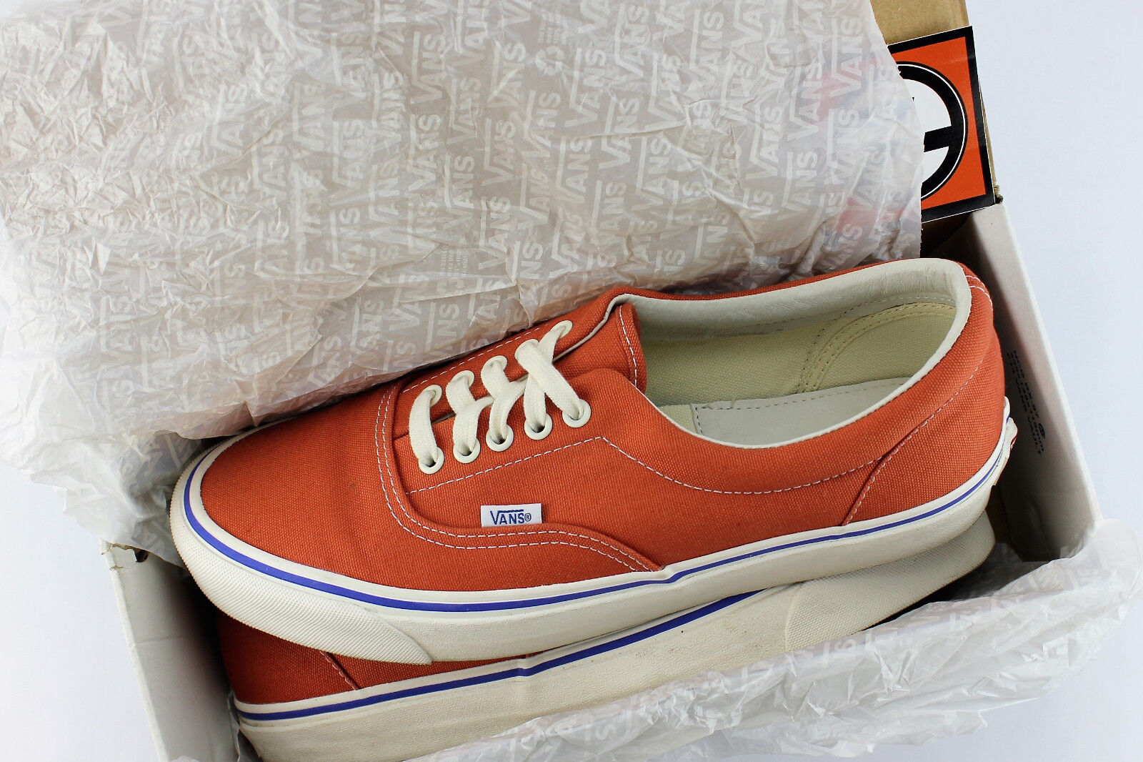 Vans OG Era LX Canvas Mecca Orange Größe 11.5 VN 0OZDF9D